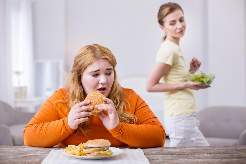 太りやすい体質と太りにくい体質の差2