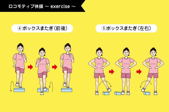 ロコモティブ体操4~5
