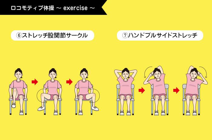 ロコモティブ体操6~7