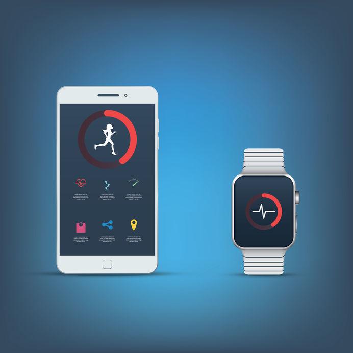 運動記録系アプリ