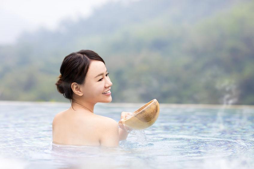 女子必見!泉質によって異なる様々な温泉効果
