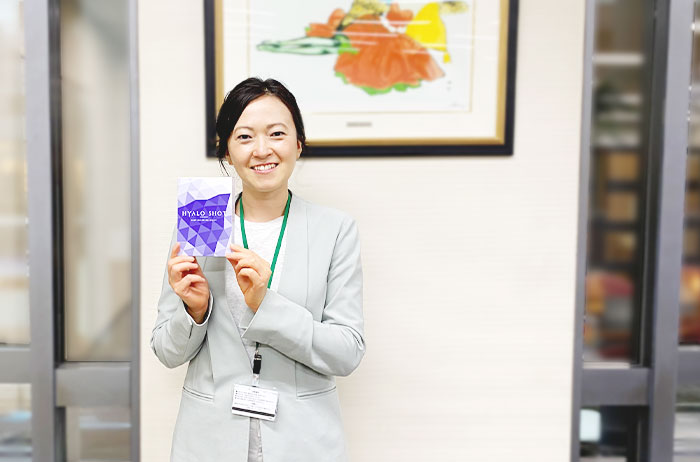 「ヒアロショット」開発者の冨永
