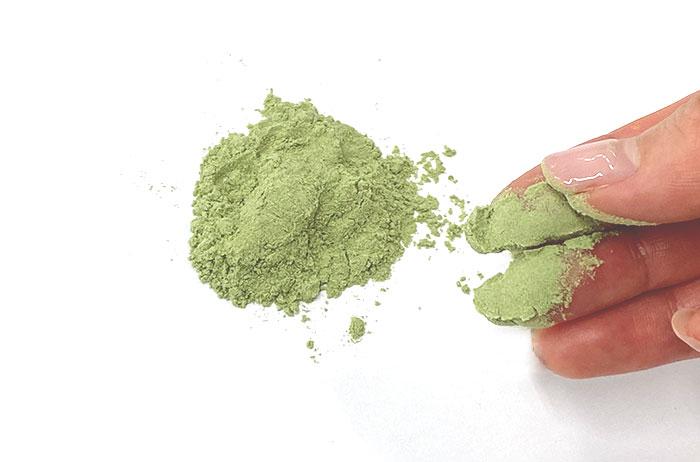 6種類の脂肪や糖を抑える素材を微細粉末に加工